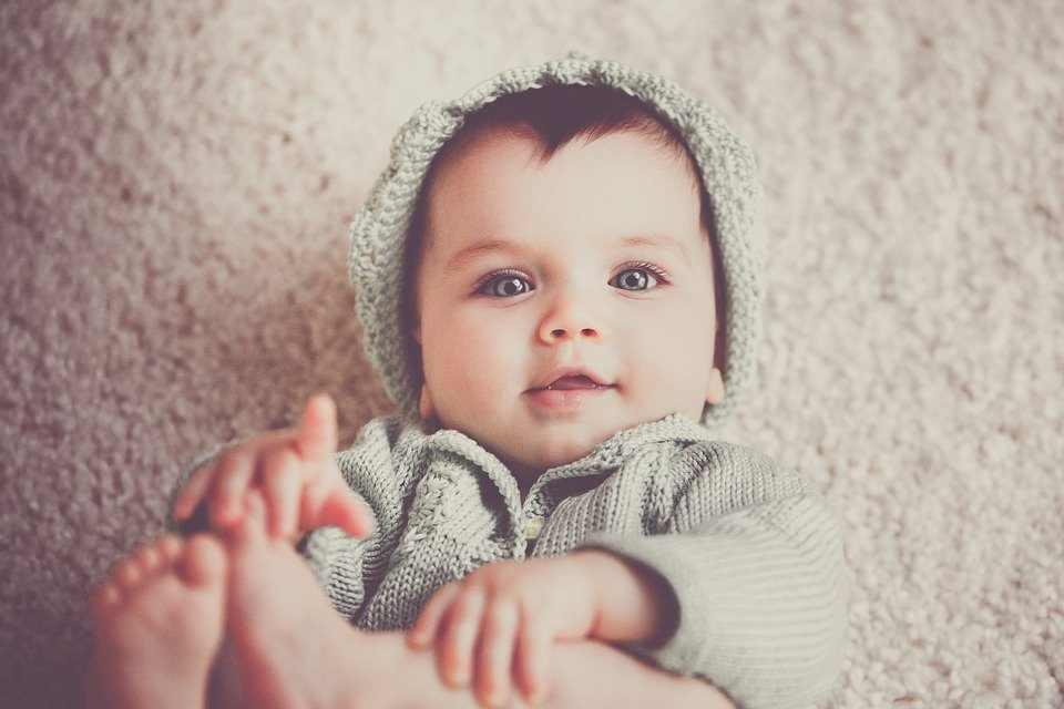 nombre de un bebé