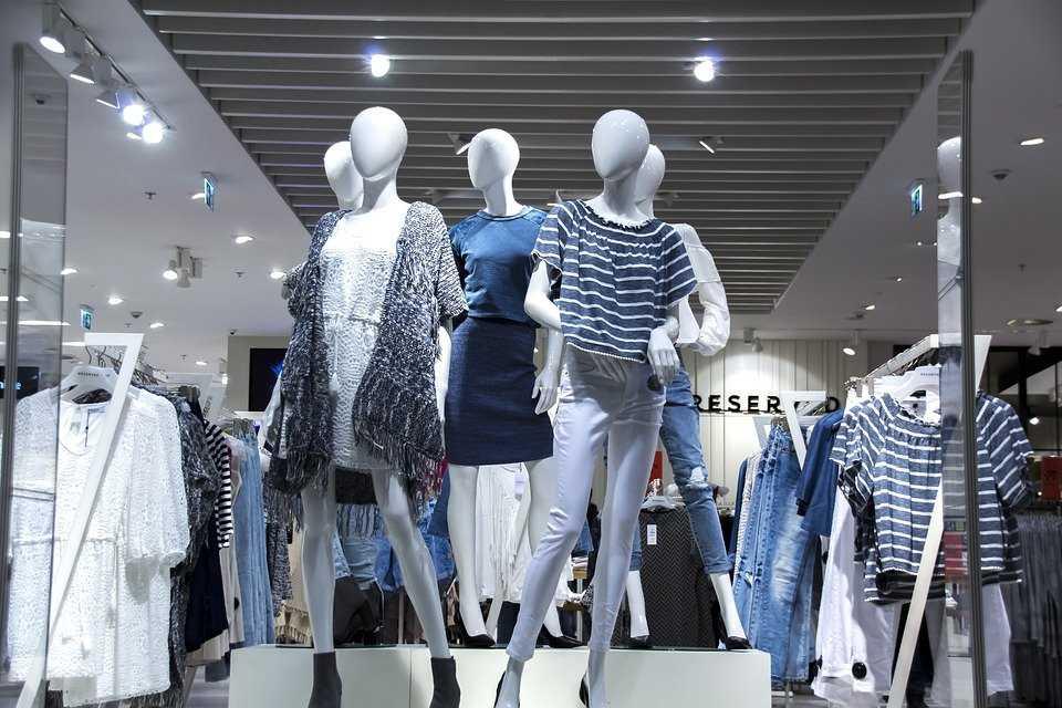 tienda de ropa femenina